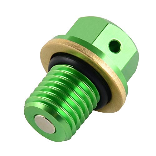 Felix-Box - CNC Oil Drain Plug Bolt for Honda XR CRF 50 70 80 100 CR500 CR125R CR250R CRM250 CRF250L/M XR250 XR400 XR600R XR650R CRF1000L