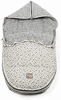Walking Mum Stars Be - Saco grupo 0, unisex, color gris