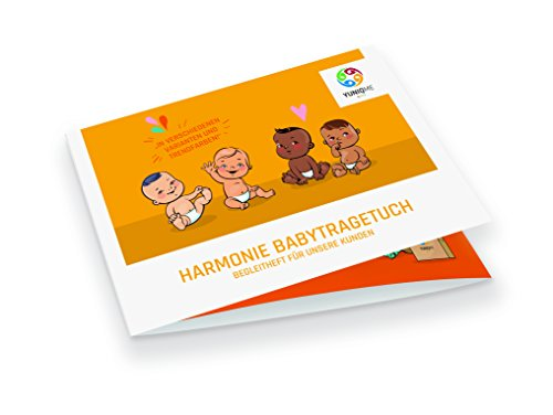 YUNIQME® Harmonie Babytragetuch – sehr weiche 100% Baumwolle – elastisches Tragetuch – Baby Tragetuch für Neugeborene mit bestem Tragegefühl – OEKO TEX – verschiedene Trendfarben - 3