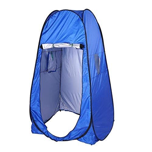XBR 2021 Nueva Carpa de baño al Aire Libre Ducha Aseo Carpa de Campamento Carpa de baño al Aire Libre de Verano Azul para Pesca de Picnic (Color: Azul, Tamaño: 195x150x50cm)