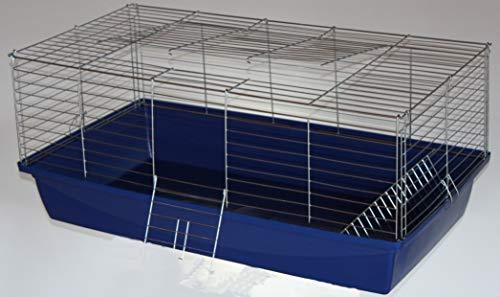 H1,20 m Hasenkäfig Nagerkäfig Kaninchenkäfig Käfig Stall Meerschweinchen +BONUS