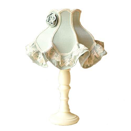 Tafellamp slaapkamer bedlampje Continental Court tuintafelkleed tafellamp kanten tafellamp retro tafellamp
