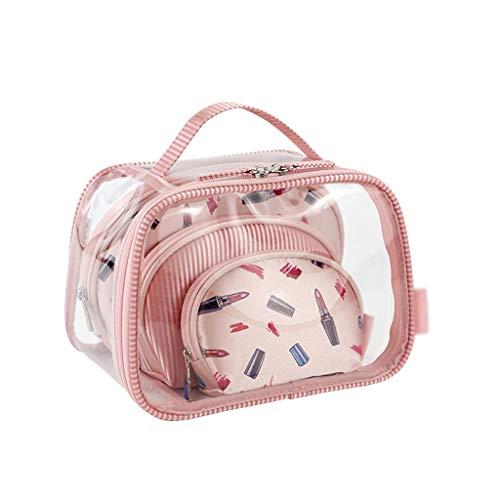 Graffiti Cosmetic Bag Ladies Travel Business Sac de Lavage Portable Sac de Rangement de Maquillage Set (Color : Pink, Taille : 22 * 15cm)