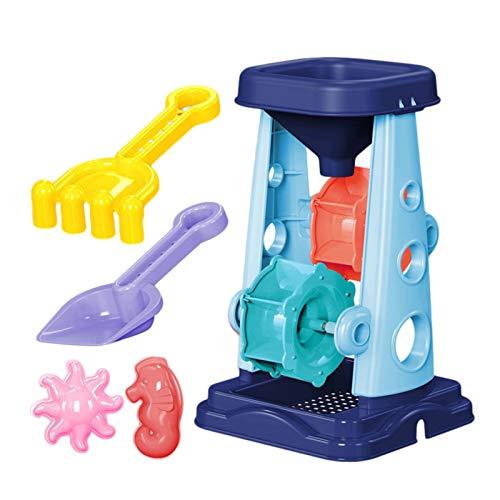 WOTEG Conjunto de juguete de arena, Juego de juguetes de playa para niños, Juego de juguetes de playa para niños Set de arena de juguete de playa para niños Set de arena de juguete de playa