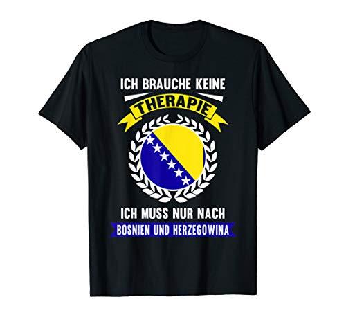 Bosnien und Herzegowina Urlaub Reise Ferien Spruch Geschenk T-Shirt