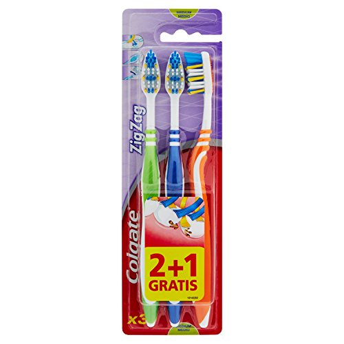Colgate ZigZag Zahnbürste, 3 Stück