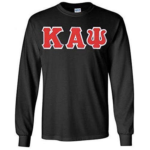 Kappa Alpha Psi Lettered Long Sleeve Large Black