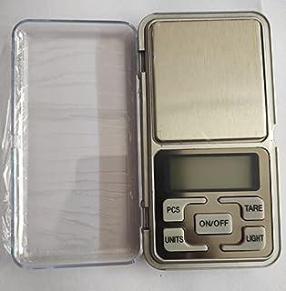 pranali enterprise Mini Digital Pocket Weight Scale Machine with Auto Calibration, Tare Full Capacity, Operational Temp 1...