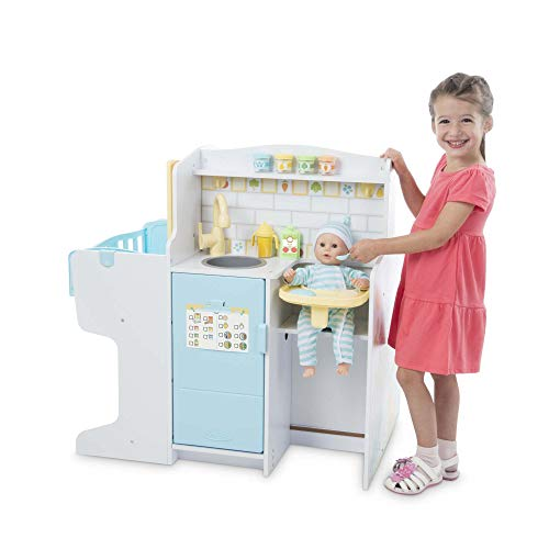 Melissa & Doug Mine to Love Baby Care Activity Centre (Role Play Center, Dolls & Stuffed Animals Storage, Great Gift for Girls and Boys - Best for 3, 4, 5 Year Olds and Up)