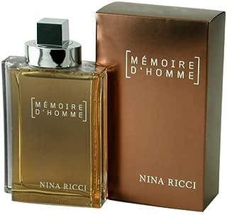 Memoire D'homme By Nina Ricci For Men. Eau De Toilette Spray 2 Ounces