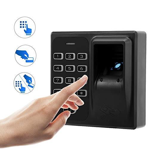 2,4' TFT Orologio Marcatempo Lettore Impronte Digitali Registratore Biometrico, Rilevatore Presenze Con Impronta Digitale e Rfid Intelligent biometrico di Impronte Digitali Password Macchina