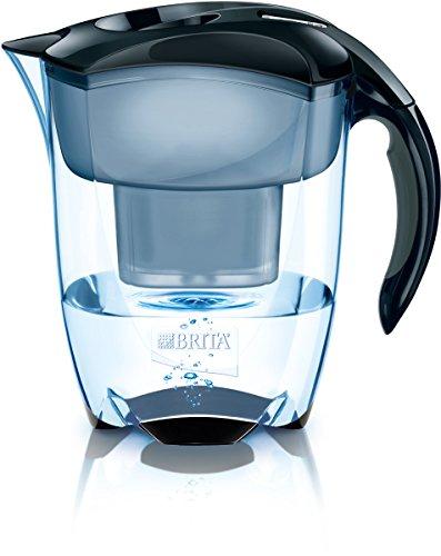 BRITA Elemaris XL - Jarra con Filtro de Agua 3.5 L, Color Negro