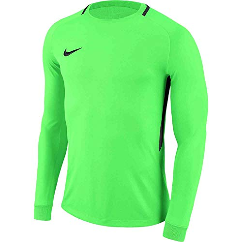 Nike Youth Park III Long Sleeve Goalkeeper Jersey (Green Strike/Black, Large)