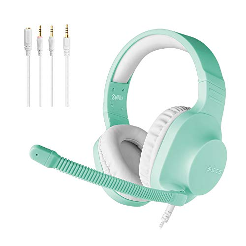 SADES Spirits 3.5mm Stereo Gaming Headphones for PS4, Xbox One, Over Ear...