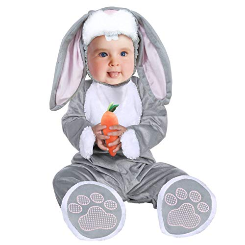 Disfraz Conejo Bebe,Bebé Disfraces Halloween Carnaval Traje Animales Ropa Pelele Cosplay 3PC