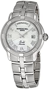Raymond Weil Men's 2844-ST-00908 Parsifal Mother-Of-Pearl Dial Watch image