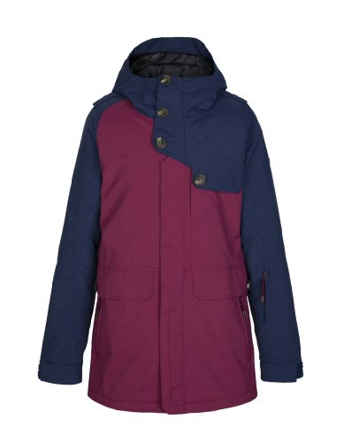 Zimtstern Damen Jacket Snow Richon, Marine/Wine, XS, 7720203459702