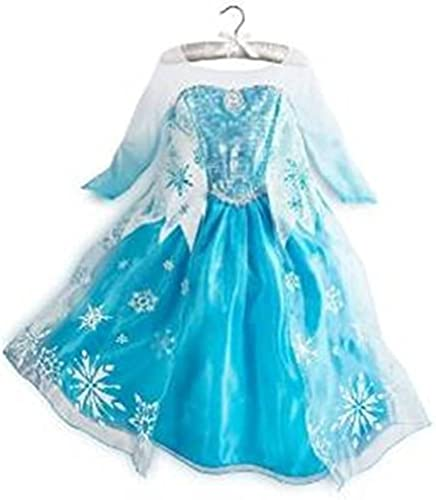 alta calidad Queen Elsa Snow Snowflake Snowflake Snowflake Dress Costume Cosplay (7T-8T) by Rush Dance  Sin impuestos
