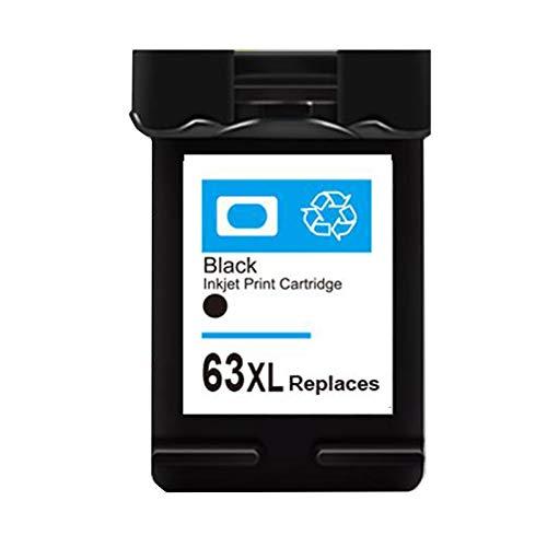 Cartucho de tinta 63XL, repuesto para HP 63XL 63 XL para usar con OfficeJet 4520 4650 3632 2130 3630 3830 de alto rendimiento negro