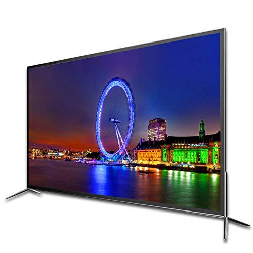 Televisor LCD de alta definición 4K de 50 pulgadas Televisor de pantalla plana ultrafina, compatible con televisión de red inteligente con cable / inalámbrica, televisor de moda con un lado estrecho
