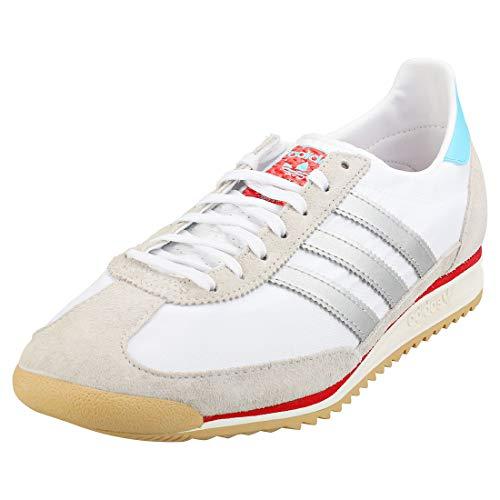 adidas SL 72 Hombres Zapatillas Correr White Silver - 41 1/3 EU