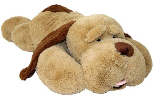 Wagner 9024 - XXL Riesen Plüschhund - 145 cm groß - riesen Kuschelhund Teddybär Plüschtier Plüsch Plüschbär Hund