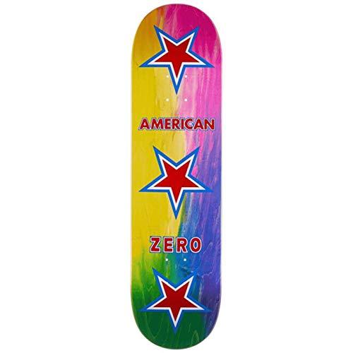 Zero Skateboards, Skateboards, Skateboard, American Zero Rainbow, 8,5 x 32.3