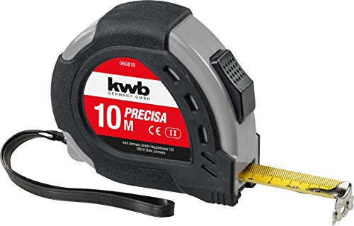 kwb 49060810 - Flexómetro de acero, 10 m (25 mm de ancho)