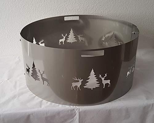 Czaja Stanzteile Funkenschutz Wild für alle Feuerschalen Ø80cm (80cm V2A)