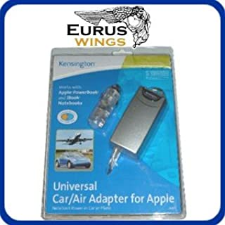 Kensington 33057 Car / Airplane Air Universal Laptop Power Adapter for APPLE iBook, PowerBook G3 G4