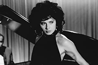 Isabella Rossellini in Blue Velvet sexy pose leaning against piano 24x36 Poster
