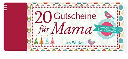 Weihnachtsgutscheine für Mama