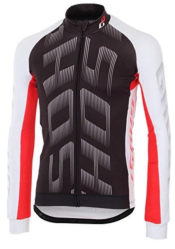 Ghost Trikot Pro Jersey Long Black/White/red 2016 (l)
