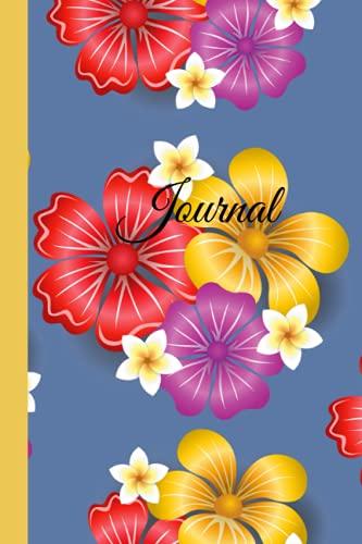 Tropical Floral Dot Grid Journal