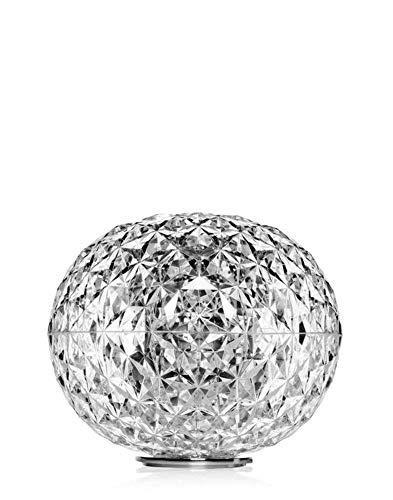 Kartell Planet, Lampe de Table Basse, Cristal