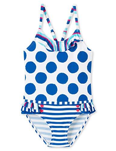 Schiesser Mädchen Aqua Badeanzug, Mehrfarbig (Multicolor 1 904), (Herstellergröße: 128)