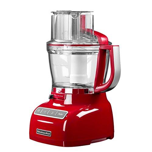 KitchenAid 5KFP1335 - Robot de cocina (Rojo, 7.8 kg, 280 mm,