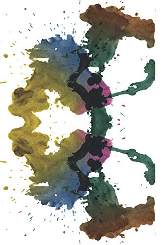Rorschach Test: Ruled Notebook With Psychological Test - Rorschach Test Picture Journal By Swiss Psychologist Hermann Rorschach For Writing Notes Or ... Write In) (Rorschach Test Notebooks, Band 5)
