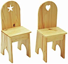 product image for Heart Kids Desk Chair Finish: Linen