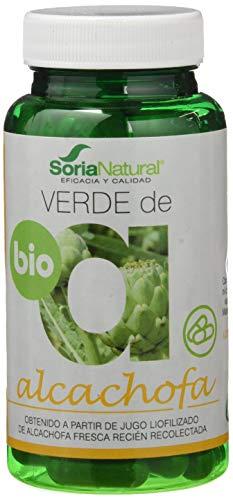 Soria Natural Verde de Alcachofa - 80 Capsulas