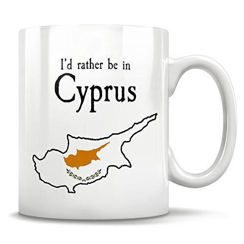 N\A Zypern Geschenk, Zypern Becher, Zypern Souvenir, Zypern Stolz, Zypern Flagge, Geschenke aus Zypern, lustiges zypriotisches Geschenk, zypriotische Abstammung, 11oz