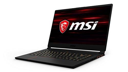 MSI GS65 Stealth Thin 8RE-089IT Notebook da Gaming, Display da 15.6 , Processore Intel i7-8750H, 16 GB di RAM, SSD da 256 GB NVMe, Scheda Grafica nVidia GTX 1060 [Layout Italiano]