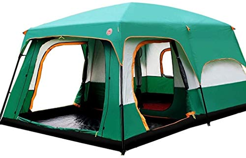 LAZ Outdoor Sports 6/7/8/9 / 10-12 People Camping 4 Seasons Tent Picnic Two Tent for Bedroom Large Space Tent
