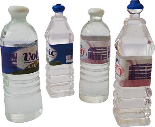 Fee Tuin / Poppenhuisaccessoires - Miniatuurfles Water (6 Flessen Meegeleverd, Ontwerp Willekeurig Gekozen)