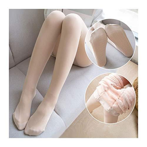 NWXZU Medias Mallas de piernas ligeras de doble capa Mujeres Otoño e invierno Modelos de invierno más Velvet Engrosaje Falso Piel Color Desgaste Sexy Pantalones Cálidos Chica ( Color : Soft plush 1 )