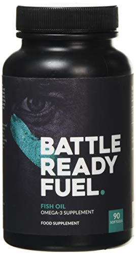 Battle Ready Fuel Fish Oil Omega-3 Nutritional Supplement (90 Capsules)