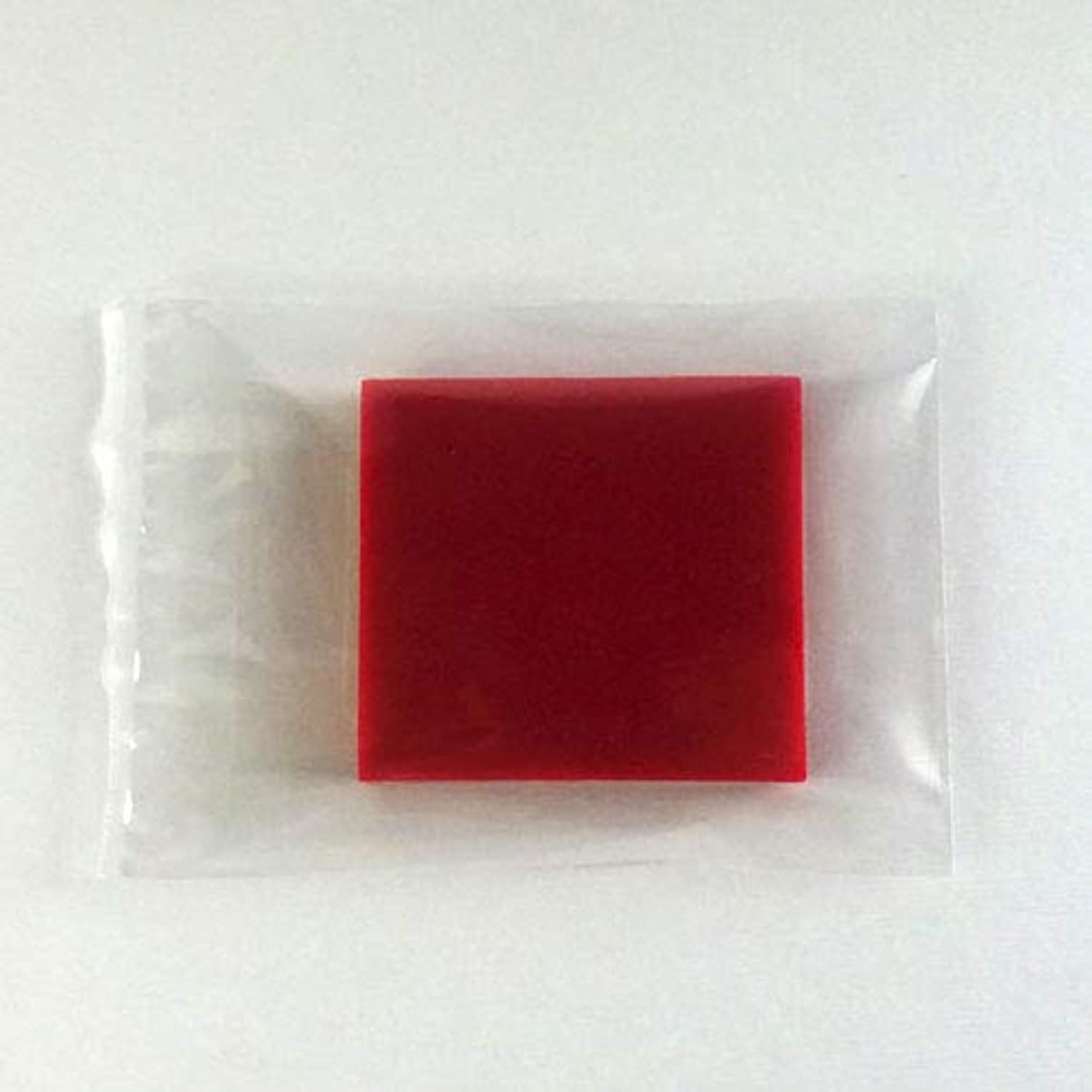 歯科医ながら限られたグリセリンソープ MPソープ 色チップ 赤(レッド) 60g(30g x 2pc)