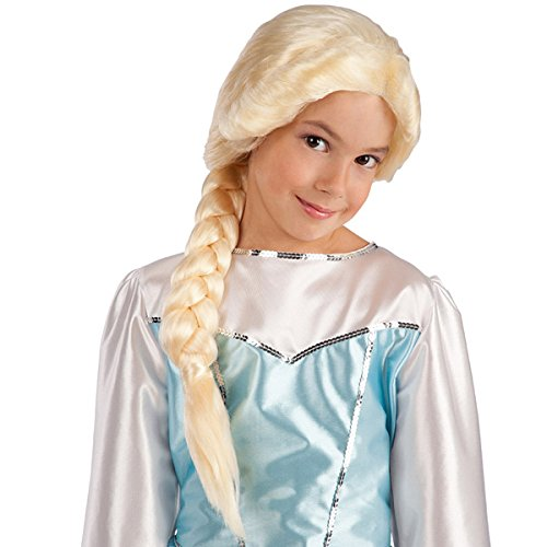 Perruque Tresse Reine des neiges - Deguisement Halloween - Blond - 992