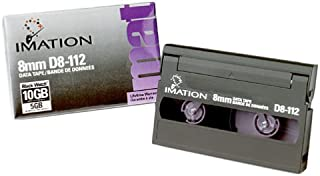 Imation D8-112 2.5/5.0GB 8MM 112-Meter Tape Data Cartridge for Helical Scan Drives (Discontinued by Manufacturer)