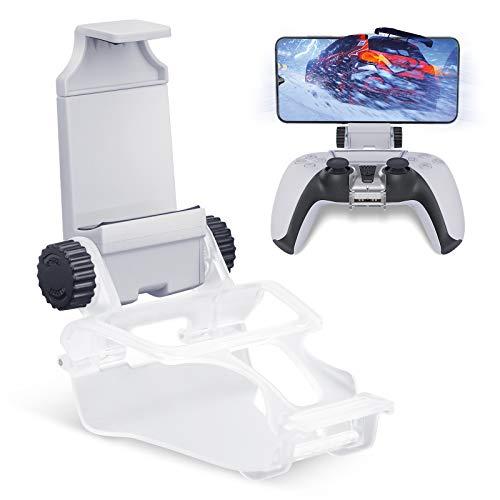 HONEYWHALE Clip de teléfono para controlador de PS5, soporte plegable para teléfono...